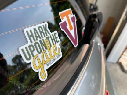 hark sticker on car